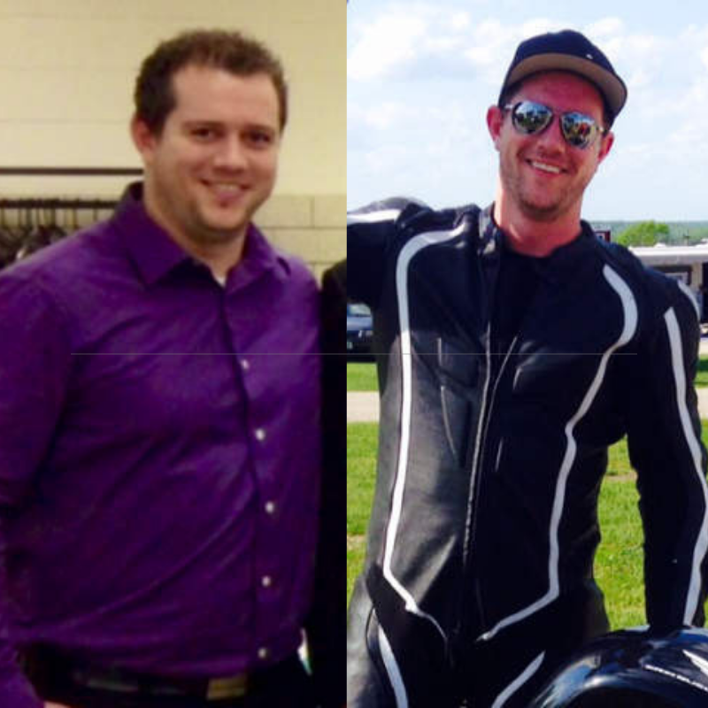 Mike B of Milwaukee Weight Loss Testimonial